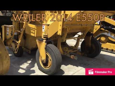 WEILER ASPHALT DISTRIBUTORS E550B equipment video 1XL5SzbE3WE