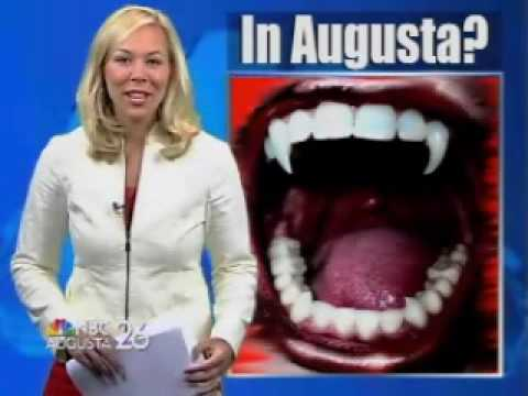 VVCVideo - Special Report: Vampires in Augusta? - NBC Augusta, GA - By Navideh Forghani - July 5, 2010.