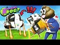 SECRET SPACESHIP GETS FLUSHED DOWN THE MAGIC TOILET!! || Amazing Frog Funny Gameplay Part 54