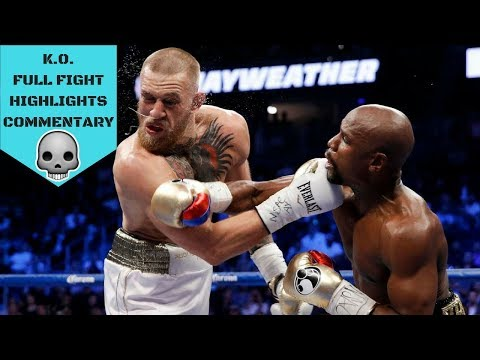 FLOYD MAYWEATHER VS CONOR MCGREGOR FULL FIGHT KO (The Money Fight) Highlights with Commentary