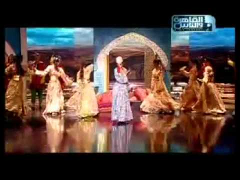 Myriam Fares Singing Moroccan Song With A Wonderful Moroccan's Gnawa Dance :)
