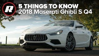 2018 Maserati Ghibli: 5 things you need to know by Roadshow