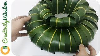 Form a flower vase using coconut leaves and floral foam that can be used for flower arrangement. This an easy to make material which is is suitable for centerpieces of any occasion.Bounce Ball by Twin Musicom is licensed under a Creative Commons Attribution license (https://creativecommons.org/licenses/by/4.0/)Source: http://www.twinmusicom.org/song/255/bounce-ballArtist: http://www.twinmusicom.org
