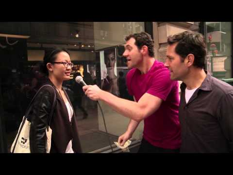 [Video] Would You Have Sex With Paul Rudd for a Dollar?