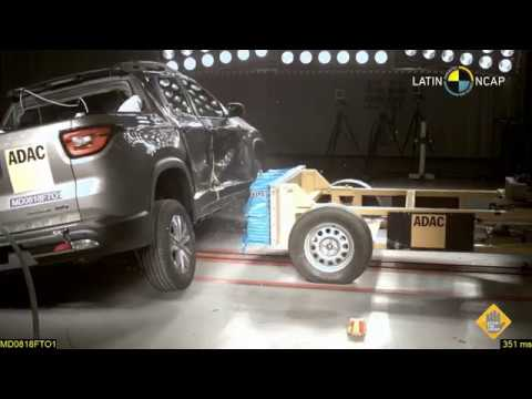 Prueba FIAT Toro, Crash Test