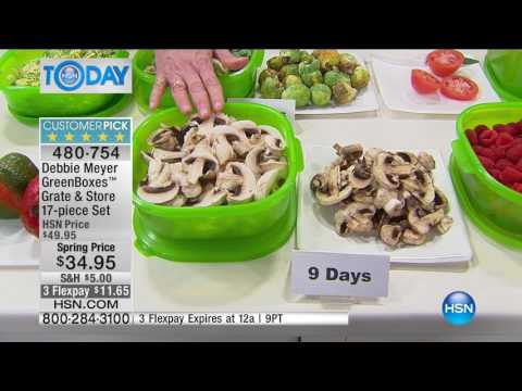 HSN | HSN Today: Kitchen Solutions featuring Debbie Meyer 03.06.2017 - 07 AM
