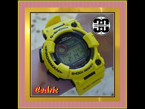 Casio G-Shock - 30th Anniversary - Lighting Yellow Titanium Frogman [GWF-T1030E-9JR]