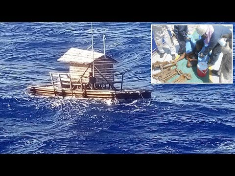 'Real Life Of Pİ' Teen Rescued After 49 DAYS Adrift 1676 Miles In Pacific