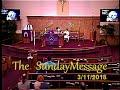 Sunday Message 3/11/2018