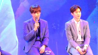 160401 EXO SECRET NIGHT - SING FOR YOU, EXO FOCUS