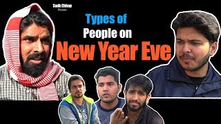 Video Types of People on New Year Eve | Sadak Chhap MP3, 3GP, MP4, WEBM, AVI, FLV Maret 2018
