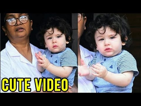 Taimur Ali Khan HAPPY At Playschool, Goes Home To