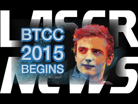 LASER NEWS - BTCC Media Day 2015!