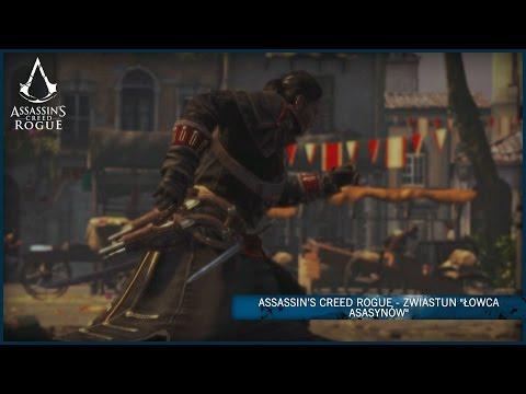 Oto epicka konfrontacja Shaya, łowcy asasynów i jego byłych braci. Przedstawiamy zwiastun z rozgrywki Assassin's Creed Rogue.  dostępna 13 listopada wyłącznie na Xbox 360 i PS3.  więcej na http://www.assassinscreed.com   Nasz Twitter: #ACRogue