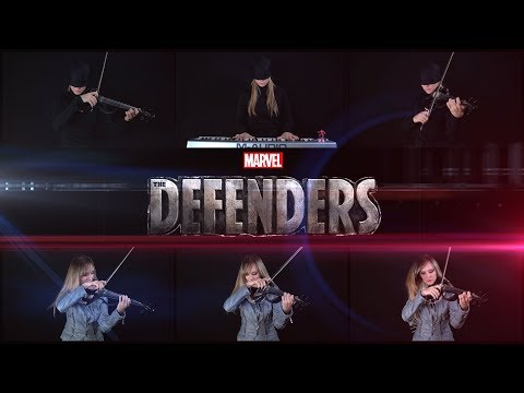 Marvel's The Defenders - Opening Theme Cover by Anastasia Soina