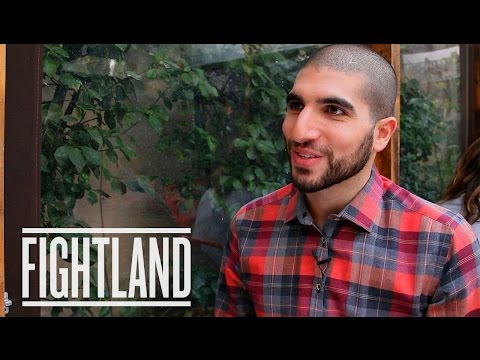 meets - Ariel Helwani, the self-made and self-styled