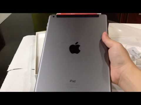 iPad Air 64GB Cellular Space Grey - UNBOXING