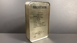 Video 1943 AAF Parachute Ration Survival MRE Review Meal Ready to Eat Tasting Test Oldest Emergency Food K MP3, 3GP, MP4, WEBM, AVI, FLV Desember 2018