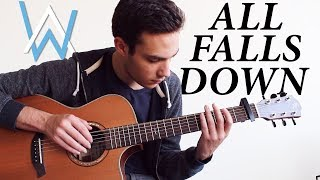Video Alan Walker - All Falls Down (Fingerstyle Guitar Cover) MP3, 3GP, MP4, WEBM, AVI, FLV Juli 2018