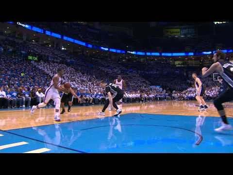 Video: Russell Westbrook Goes Baseline for the Filthy Throwdown