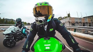 Video ZX636 - NIKUNG KAWASAKI H2 & CBR1000 HEDON! #motovlog Indonesia MP3, 3GP, MP4, WEBM, AVI, FLV November 2018