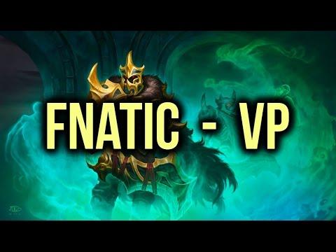 Fnatic vs VP (Virtus Pro) Dota 2 Highlights TI5/The International 5 Lower Bracket Bo1