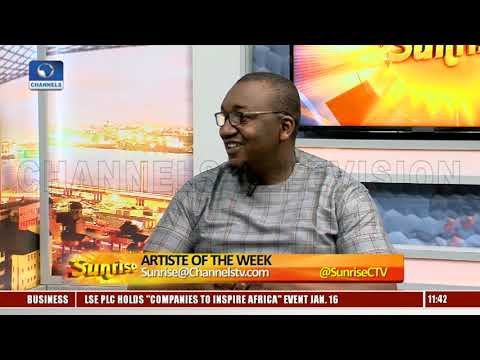 '76 Director, Ojukwu Seeks 'Revival Of Nigeria's History With Movies' Pt.2  Sunrise 
