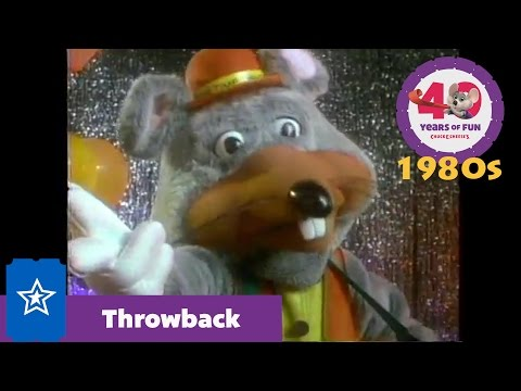 1980s Showbiz Pizza Commercial   Chuck E. Cheese 40 Years of Fun