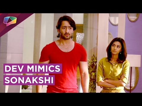 Dev and Sonakshi have a sweet ARGUMENT | Kuch Rang