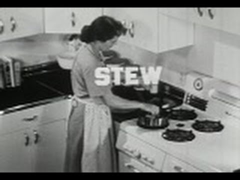 Cooking: Terms And What They Mean - Old Movie (1949) - Vintage Kitchen