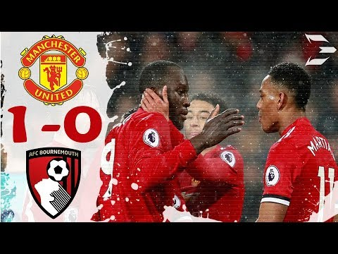 Manchester united vs Bournemouth 1-0 ● All Goals (13/12/2017) HD