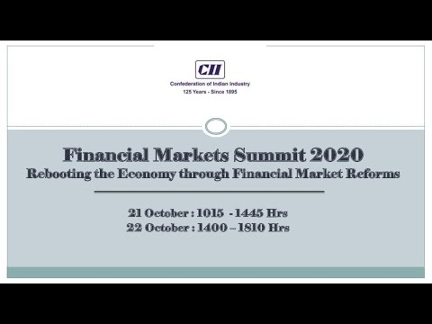 Financial Markets Summit 2020: Special Session 'in conversation' with Mr Sanjeev Sanyal