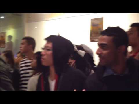 Brawl - Drunk People fighting over space at a crowded Pho restaurant downtown near Spadina/Dundas Toronto Halloween 2012 brought to you by TB Team Blackout. http://w...