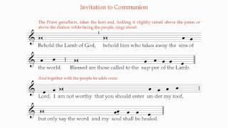 Download Lagu 17 Invitation to Holy Communion Mp3