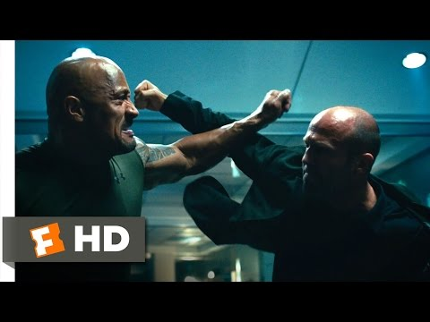 Furious 7 (1/10) Movie CLIP - Hobbs vs. Shaw (2015) HD