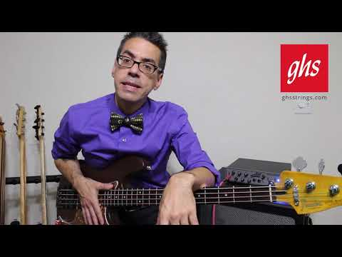GHS Strings - Balanced Nickels Bass