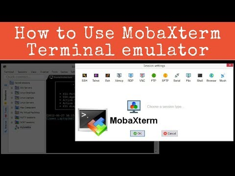 How to use MobaXterm ssh Client - [Hindi]