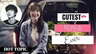 Video Ahn Jae Hyun's ROMANTIC Proposal Video to Koo Hye Sun | HOT TOPIC! MP3, 3GP, MP4, WEBM, AVI, FLV Maret 2018