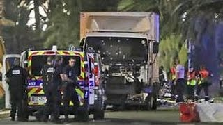 RAW ISLAMIC terrorist French citizen of Tunisian descent Truck plows crowd in NICE France 84+ dead Breaking News July 14 2016 Commercial Truck loaded with Gr...