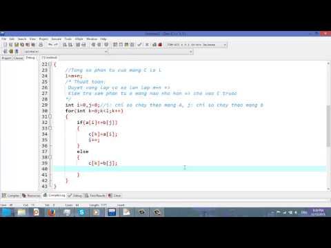 Video 24: Trộn 2 mảng SX thành mảng SX