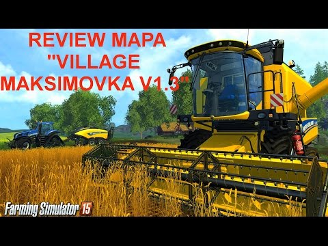 Village Maksimovka Map v1.5