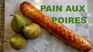 Pain aux poires, un air de Suisse