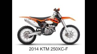 5. 2014 KTM Model Photos... Link to more model info in the description.