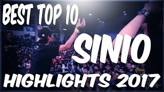 Video FlipTop - Sinio Best Top 10 Battle (2017 Compilation) MP3, 3GP, MP4, WEBM, AVI, FLV September 2018