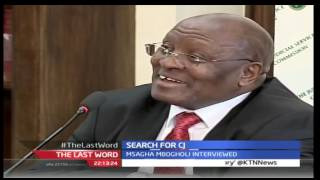 The Last Word: Search for Chief Justice 30th August 2016