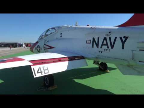 The T-45A aircraft is a jet trainer...