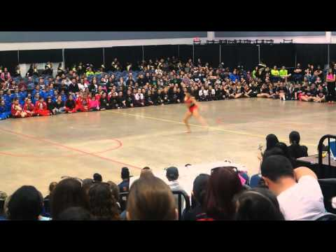 Danz Force Academy Kennedy Casarez Solo Winner Division Sr. Private at ADTS Competition 2016