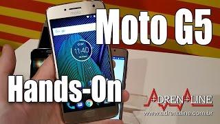 A Lenovo/Motorola lançou hoje no Brasil o Moto G5 e Moto G5 Plus, smartphones intermediários que chegam com mais potência e design premium, com acabamentos em metal.Os dois smartphones já estão à venda no site da Motorola. Com especificações mais altas e tela de 5.2'', o Moto G5 Plus está disponível no Brasil por R$ 1500, enquanto o Moto G5, com display Full HD de 5'', tem preço de R$1000.