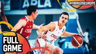 Watch the quarter final between Croatia and Georgia at the FIBA U19 Women's Basketball World Cup 2017. ▻▻ Subscribe:...