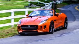 2014 Jaguar F-Type Test Drive&Review